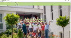 EfG Internetseite